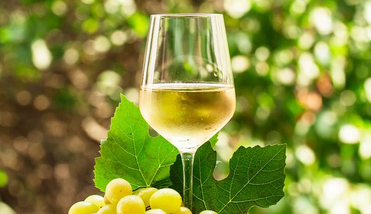Vino de uvas Torrontes