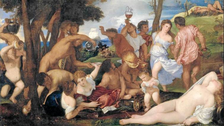 bacanales romanas