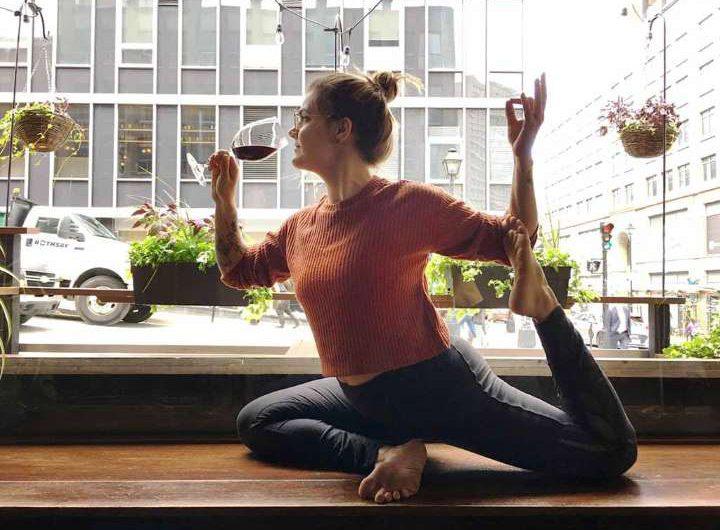 El vino y el yoga